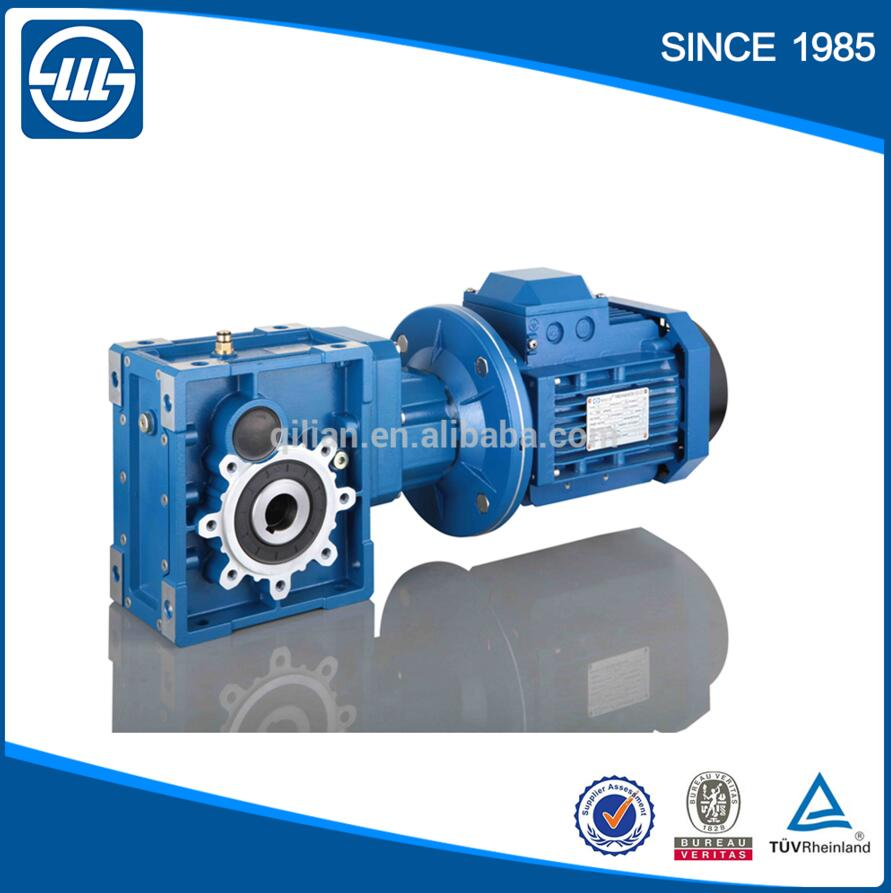 BKM series Helical Hypoid Gear reducer gearbox